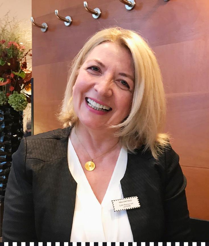 Vaia Dimitriou, Restaurantchefin