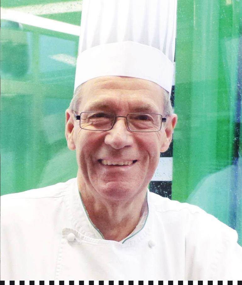 Rolf Küsters, Chefkoch der Konditorei Heinemann