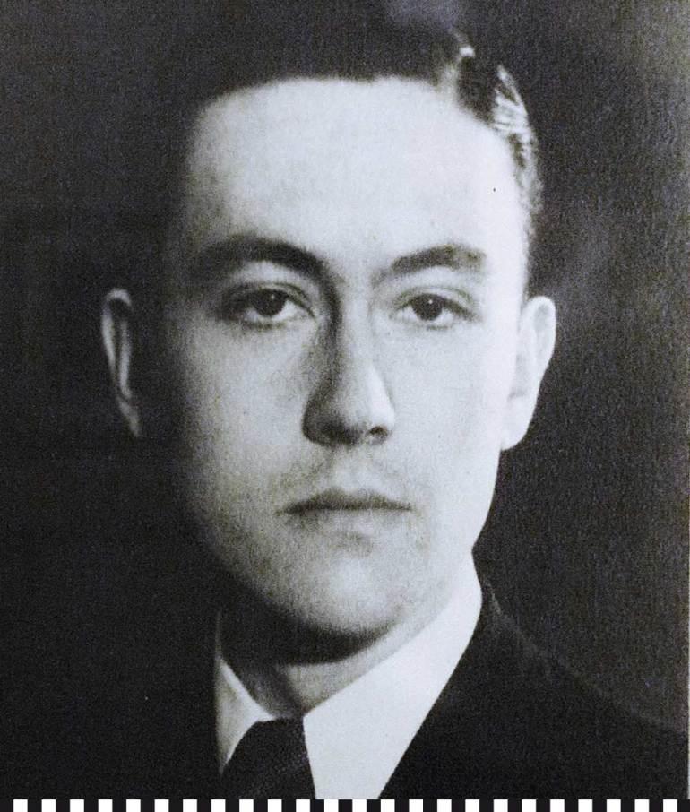 Franz Josef Fieger als junger Mann