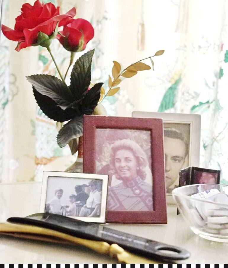 Franz Josef Fieger erinnert alles an seine Frau