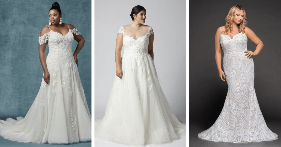 8 Size-Inclusive Wedding Dresses You'll Absolutely Swoon