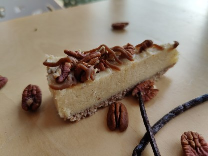 glutenvrij lactosevrij vegan bezorgen klein geluk bakery pecan caramel
