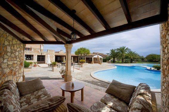 Familien Urlaub Mallorca Lounge Bereich