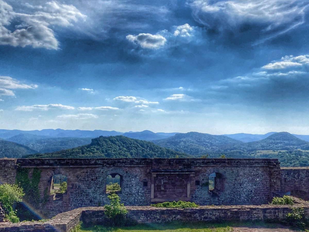 Burg-Lindelbrunn-Aussicht