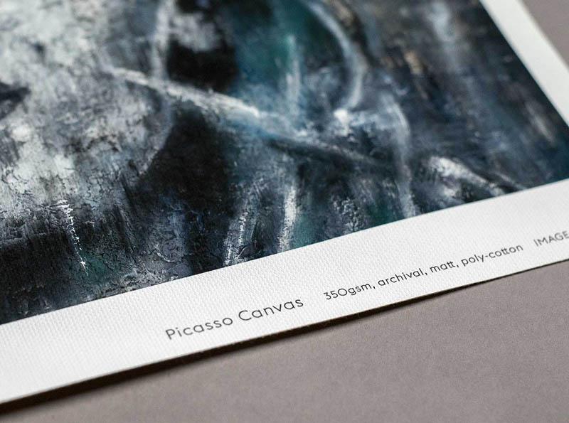 KI Picasso Giclée Canvas
