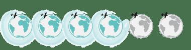 Bewertung Weltkugeln Kleinlaut Reiseblog