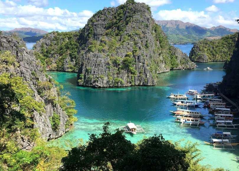 Kayangan Lake Reisetipps Coron Philippinen