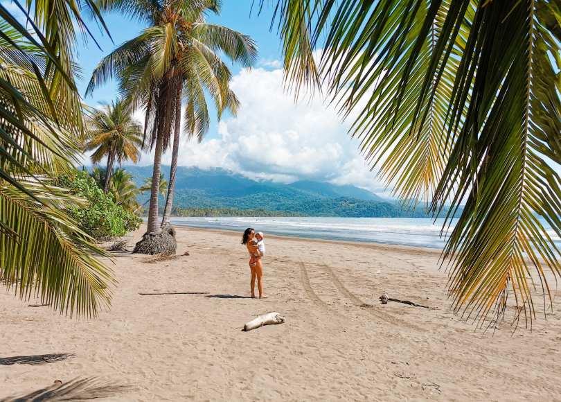 Costa Rica Reiseroute mit Baby 3 Wochen