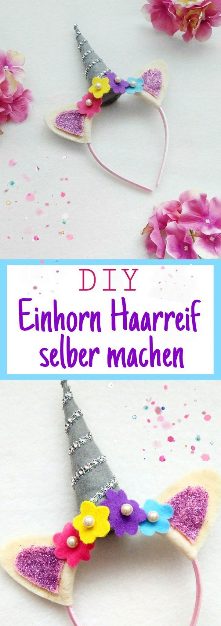 Hier zeige ich euch Schritt für Schritt wie ihr einen DIY Einhorn haarreif selber machen könnt. Ob zur nächsten Einhornparty, den Kindergeburtstag oder als Verleidung für zwischendurch, Kinder werden ihn lieben.