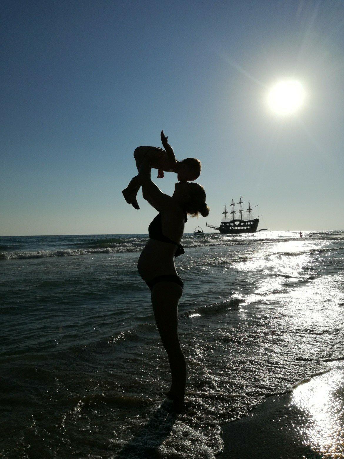 Schwangerschaftsbauch Bilder selber machen