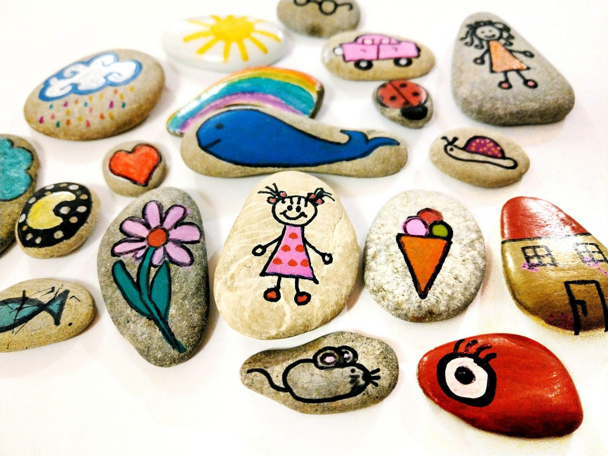Story Stones – Erzählsteine ganz einfach selber machen