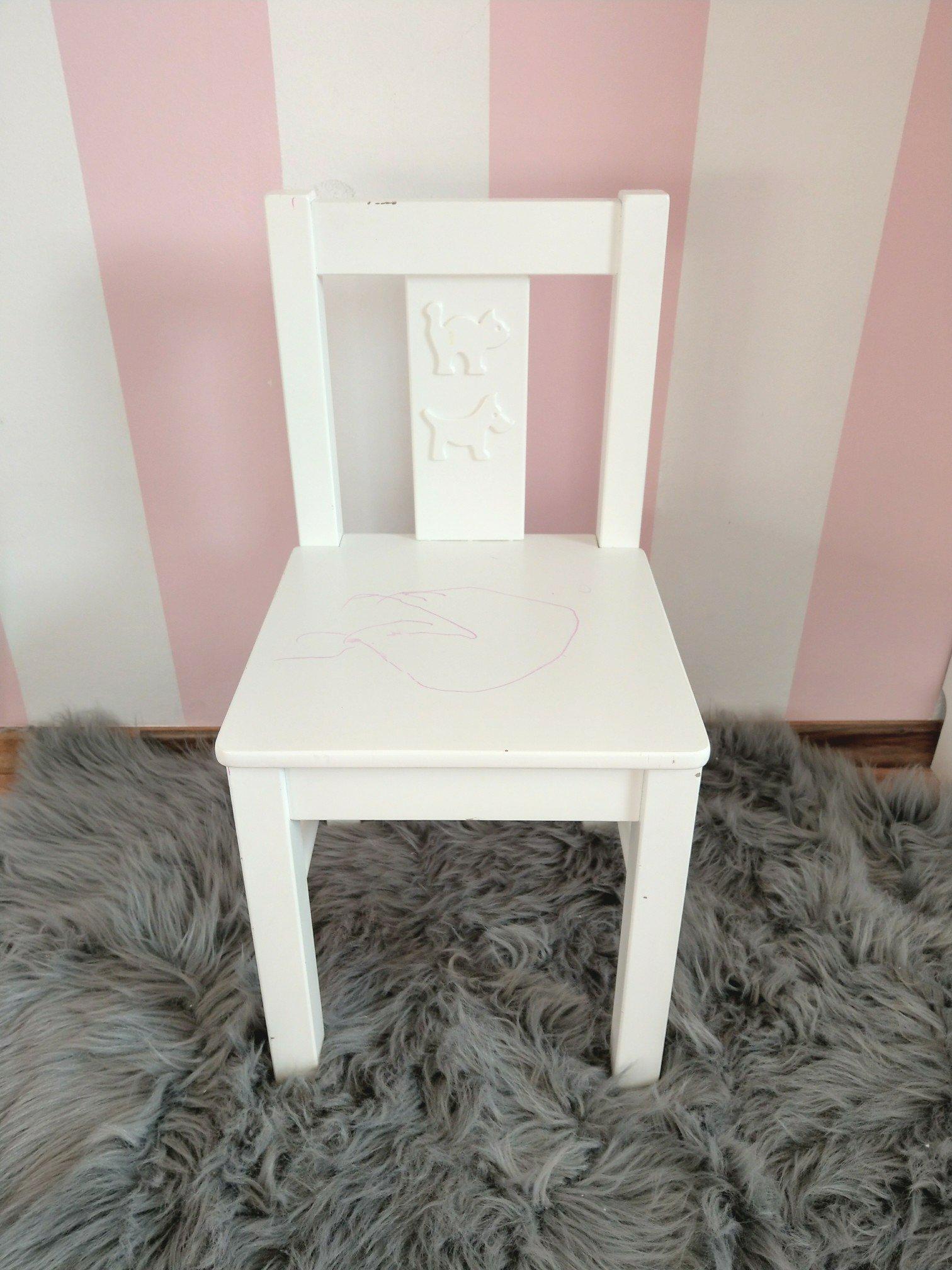 Kinderstuhl Stuhl Für Aus Ikea Dem Upcycling Diy Kritter Einhorn zMpVUS