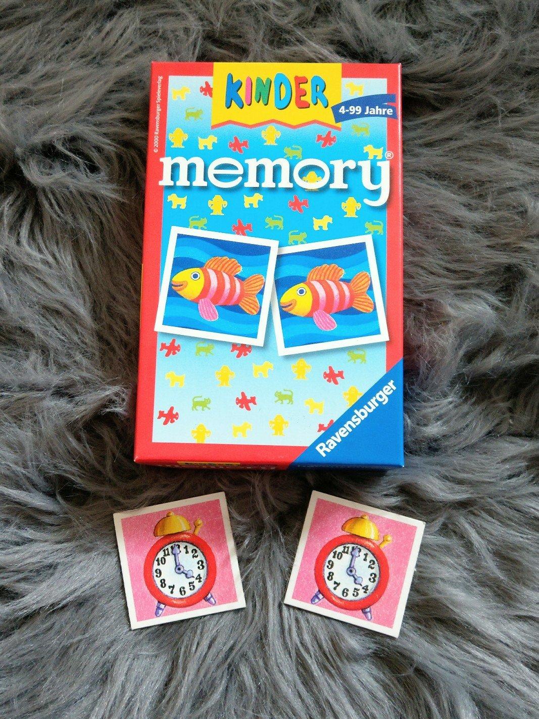 Ein Klassiker unter den Memory Spielen. Hier werden Konzentration und Gedächtnis geschult.