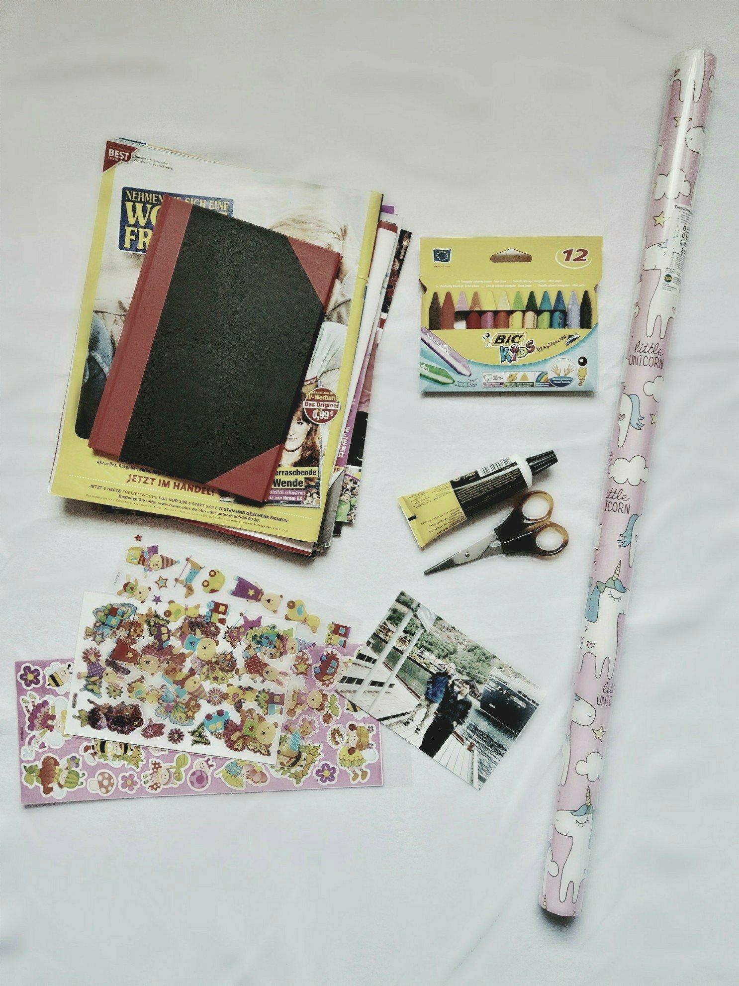 diy idee für kinder und baby's - bilderbuch selber machen