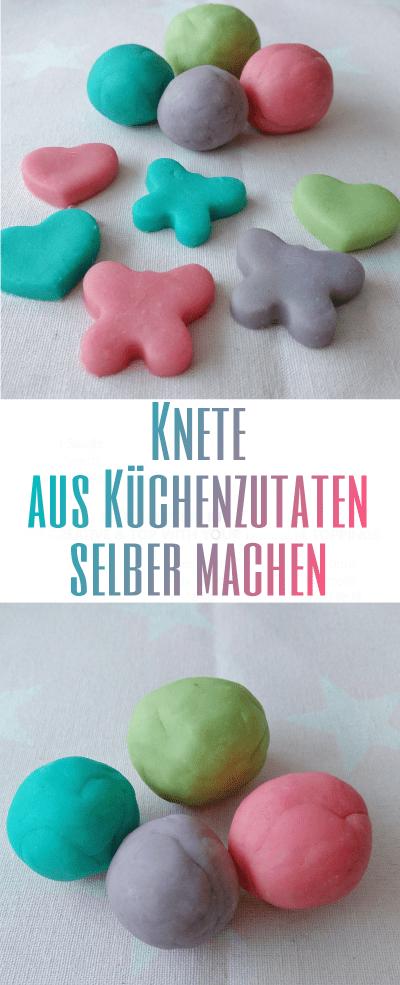 Hier zeige ich euch meine DIY Knete aus Küchenzutaten zum selber machen. Eine tolle weiche Knete ähnlich wie Play-Doh. Ungiftig und lange haltbar