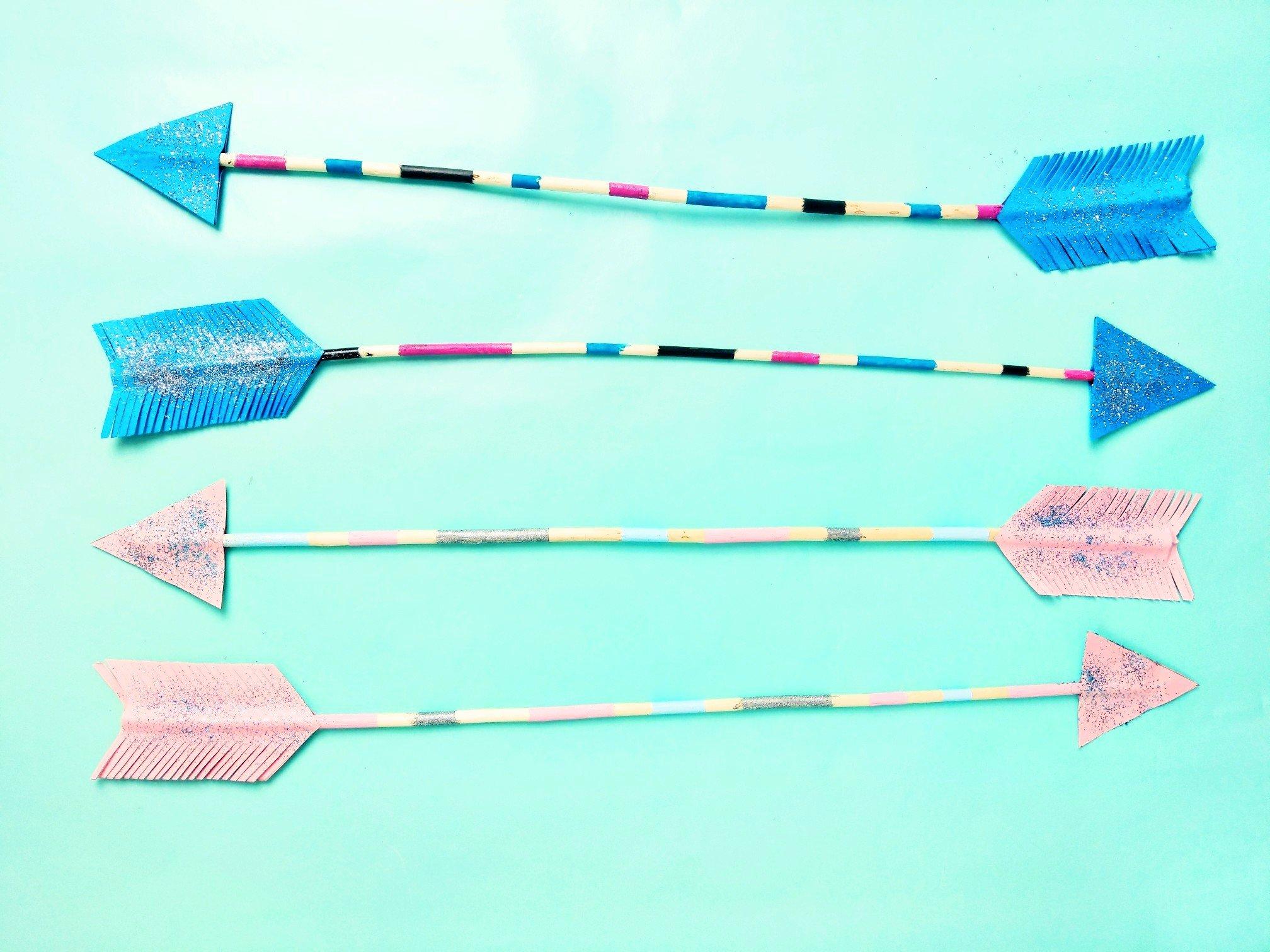 Read more about the article DIY Pfeile zum selber machen – Deko Idee für das Kinderzimmer