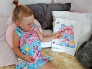 Kleid nach eigenen Vorstellungen entwerfen – tolle Geschenkidee für Kinder
