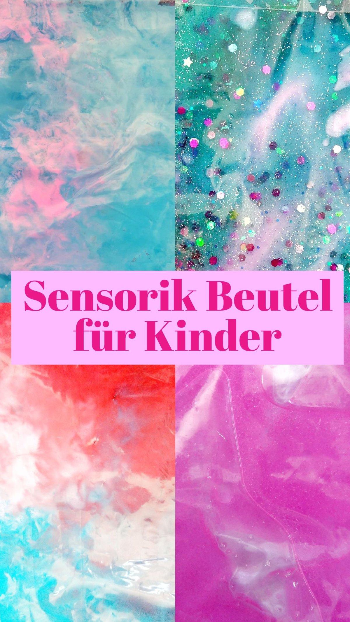 Heute zeige ich euch 6 verschiedene Sensorik Beutel zum Selbermachen. Ob malen, kneten, experimentieren oder ein Suchspiel spielen, hier findet jedes Kind seine Lieblingsbeschäftigung. Spielsachen für Kinder selber machen.