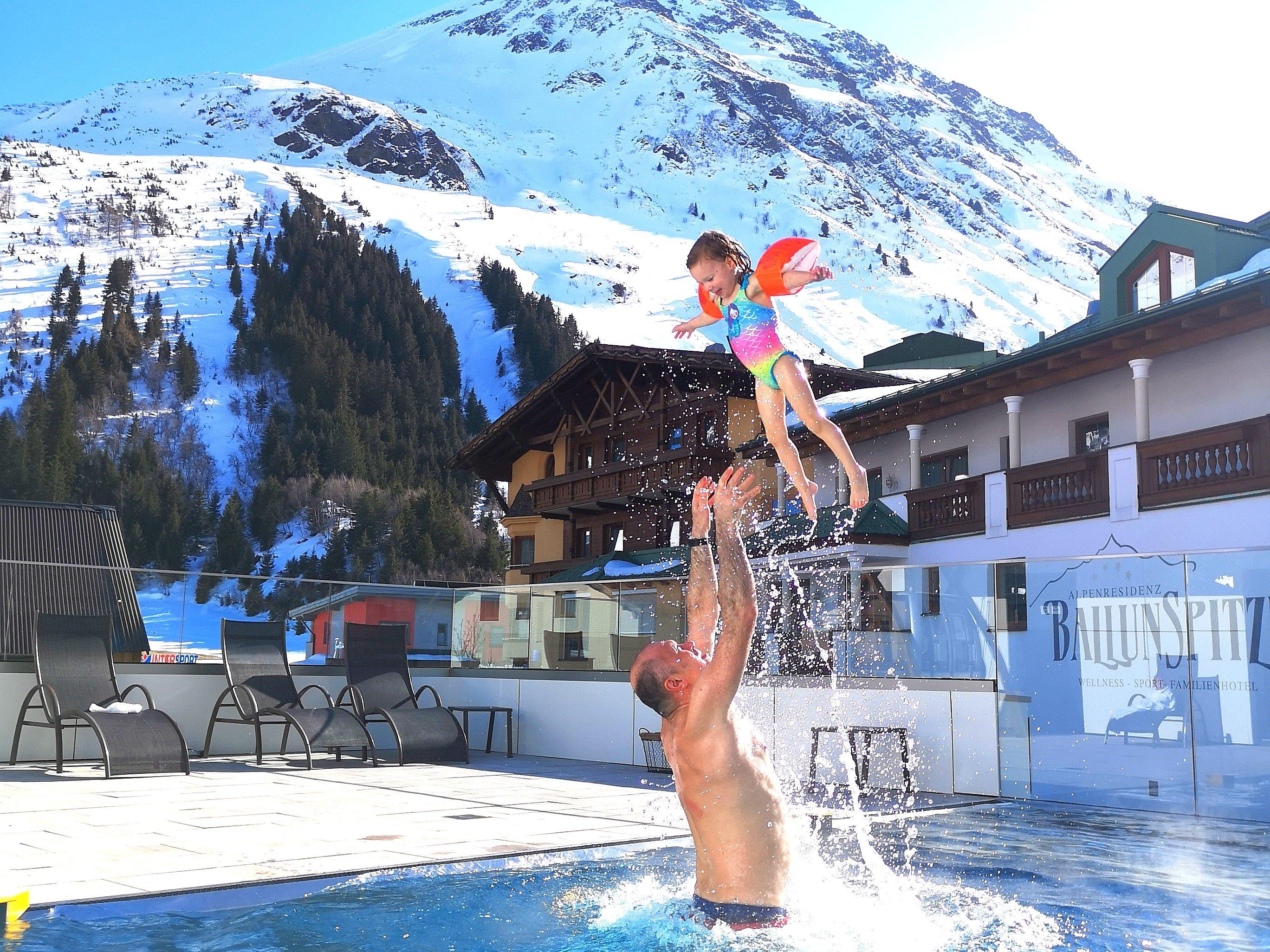 Urlaub in einem Kinderhotel – Alpenresidenz Ballunspitze