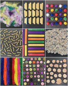 Tolle Sensorik Matten selber machen, eine Spielidee für Kinder