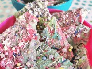 DIY Meerjungfrauen Schokolade – Einfach und lecker