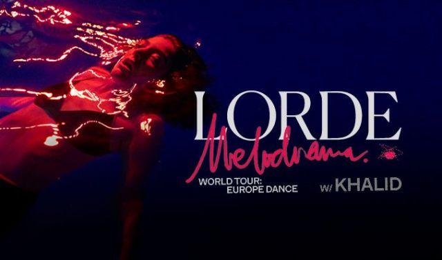Lorde Melodrama World Tour