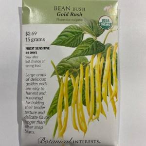 Botanical Interests Bean Bush Gold Rush