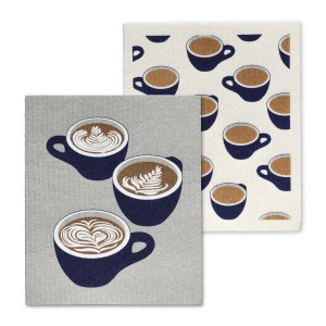 Coffee Cup Dishcloths