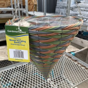 Hanging Cone Basket 12 inch