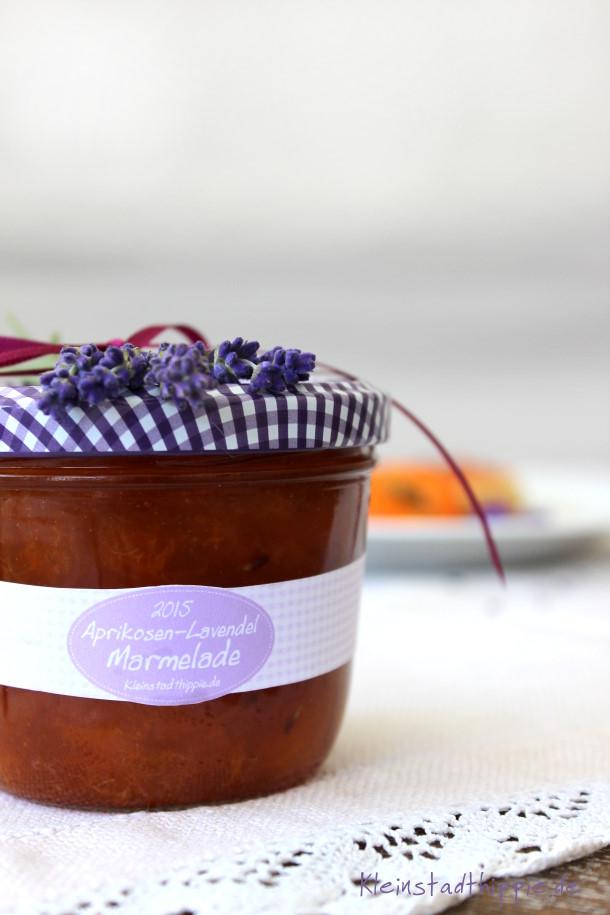Aprikosen-Lavendel-Marmelade