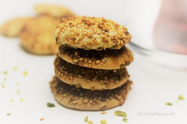 Barazek Rezept für arabische Sesamkekse