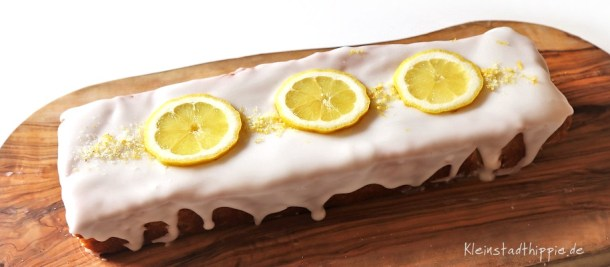 Veganer Zitronenkuchen - Barbarakuchen
