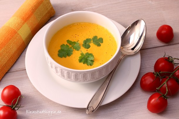 Tomatencremesuppe roh