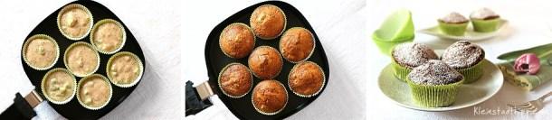 Rhabarbermuffins aus dem Airfryer