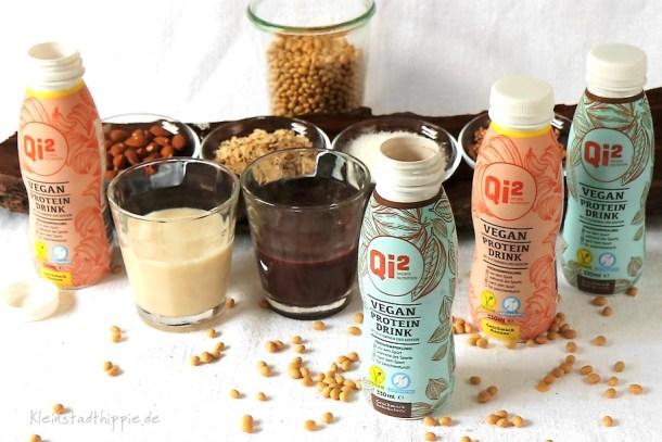 Qi2-vegan Proteine für vegane Sportler