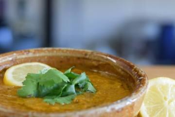 Palestijnse Olijfoliesoep Linzen soep kleinste soepfabriek biologisch bio soepen recept