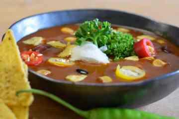 Nacho Nacho's Biologische Mexicaanse Bonensoep Maïs Kleinstesoepfabriek Soepfabriek Vega Veganistisch Vegetarisch Peulvruchten