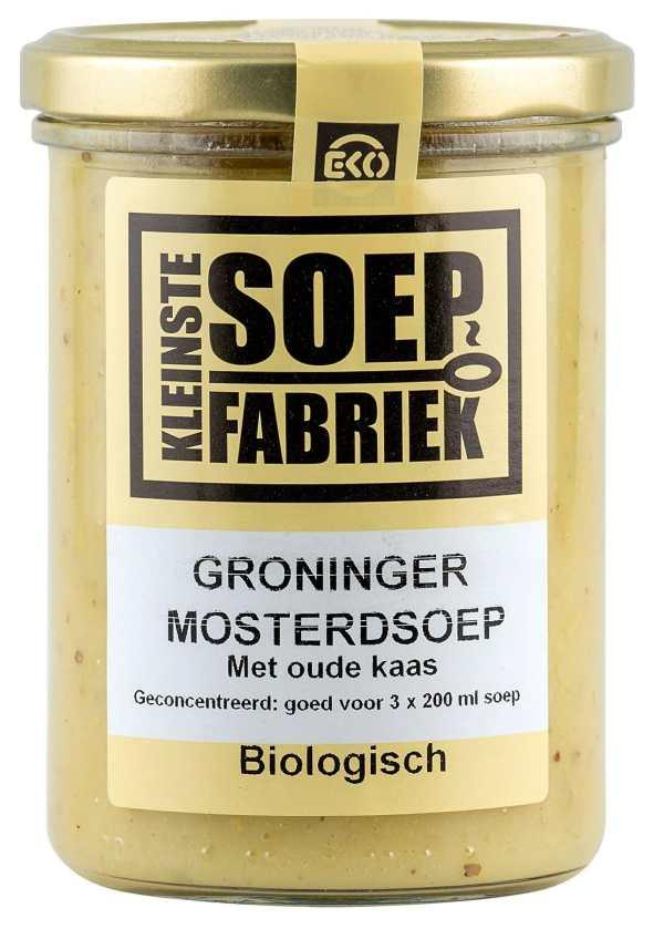 Kleinstesoepfabriek Soepfabriek Biologisch Vegetarisch Bio Soep Groninger Mosterdsoep Nederlands Hollands Roomsoep