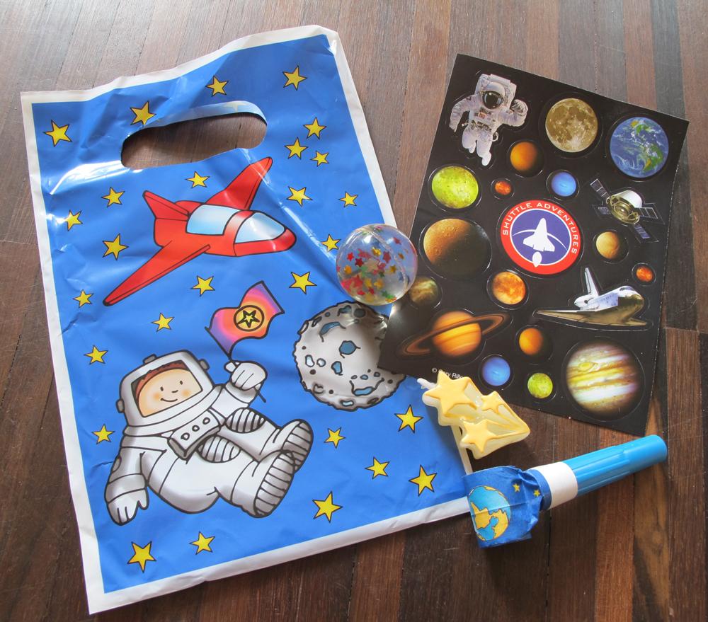 Weltraum : Kindergeburtstag
