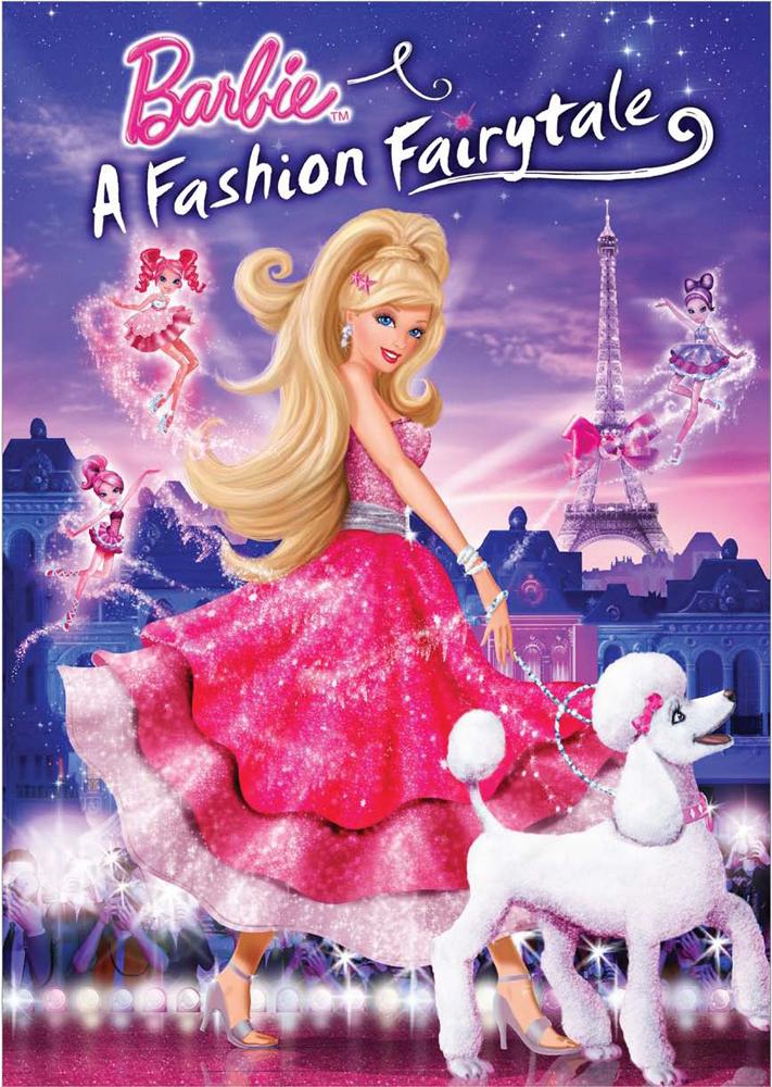 Barbie : bewegt und in Farbe