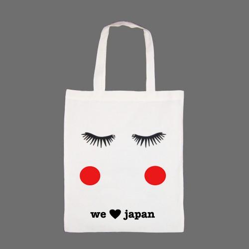 babylady inc. blushing eyes we love japan tote