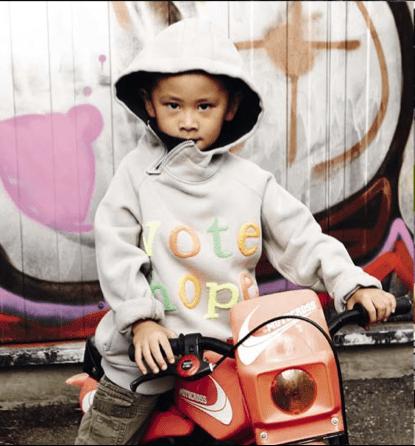 Kids Streetwear : Spirit of hope