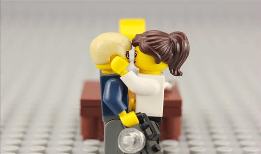 (Deutsch) LEGO Hochzeit : der Antrag