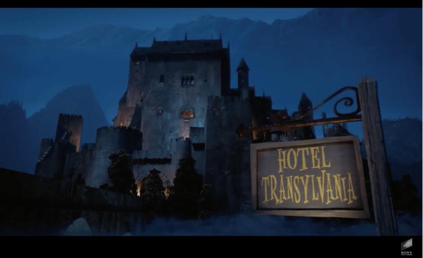 Graf Dracula's Hotel für Monster : im Kino!
