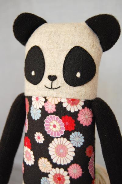 nikoki Stofftiere Panda la fou