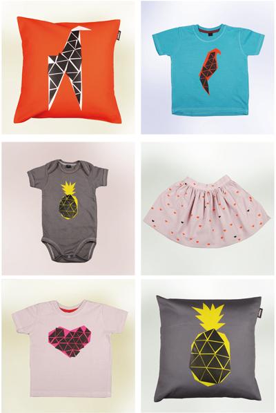 farbenfrohe Kindermode und Wohndesign von zialee frühjahr/sommer 2012