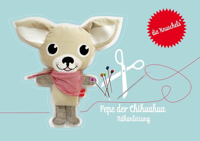 knuschels chihuahua Pepe_naehanleitung