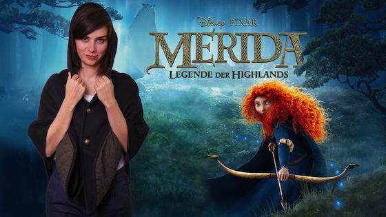 In Disney/Pixars MERIDA - LEGENDE DER HIGHLANDS leiht die beliebte Schauspielerin, Nora Tschirner, der Titelheldin ihre Stimme.