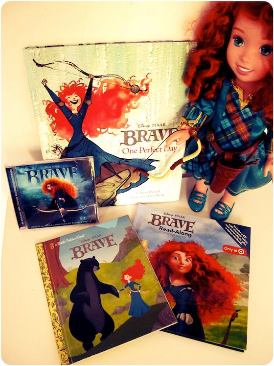 Merida Brave Bücher, Puppe, Soundtrack