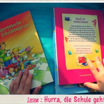 Bücher auf kleinstyle.com : Hurra, die Schule geht los! 3 Dreifach Bänder zum Lesenlernen von den Leselöwen loewe Verlag Rezension